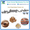 puffed chocolate filling snacks making machine/production line