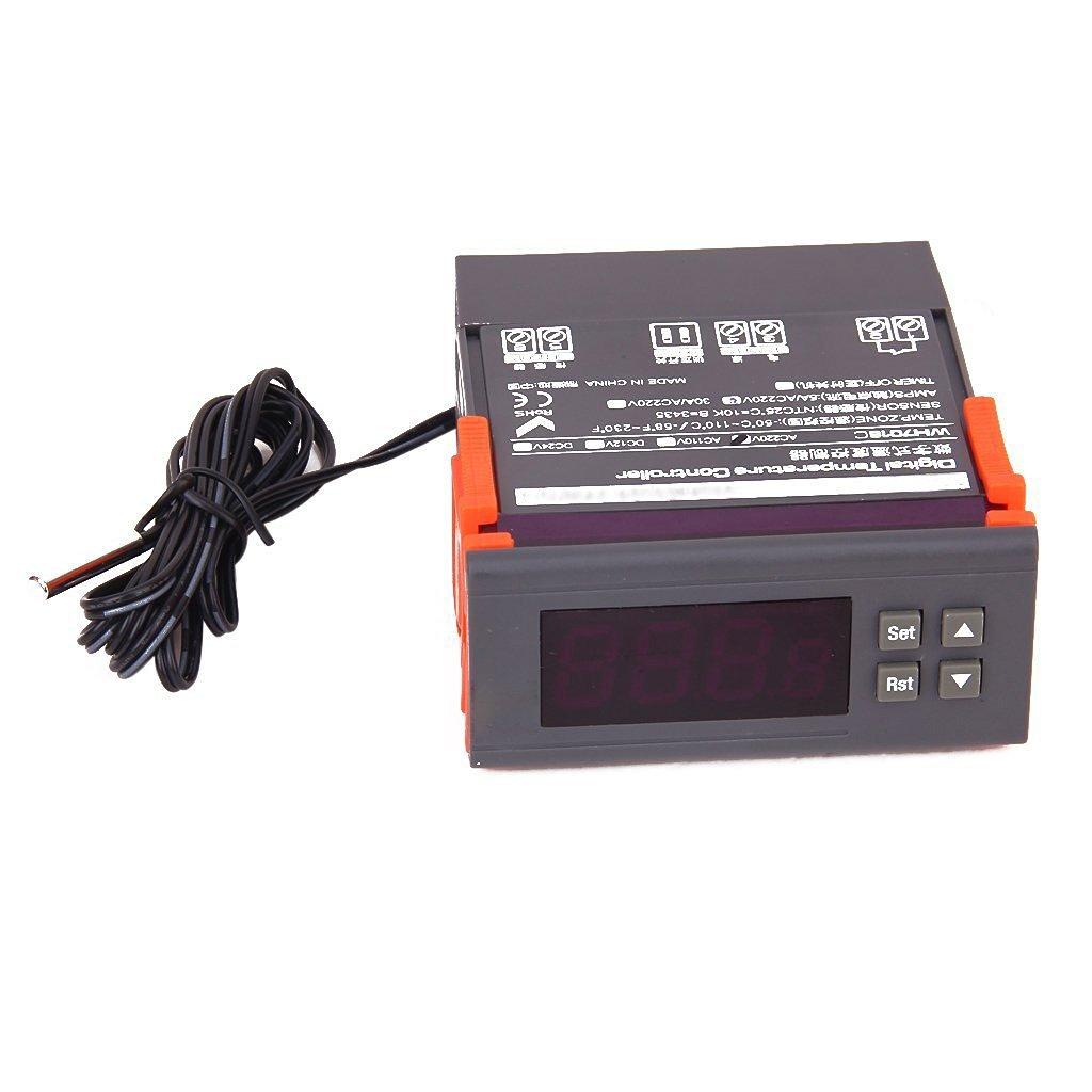Buy PECO TA168-100 Fan Coil Thermostat,Electronic,Digital in
