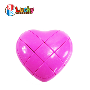 educational cool kids games love heart shape magical activity cube for twisty