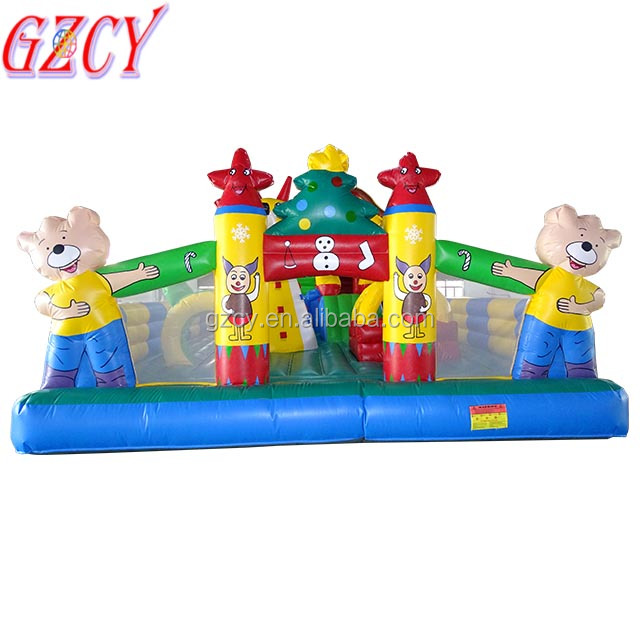 Inflatable fun city game /kids inflatable bouncer castle/inflatable outdoor amusement