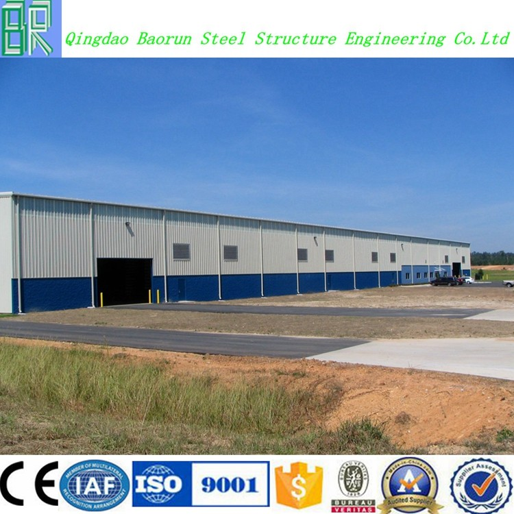 Pre Engineered Steel Construction Factory Building Design