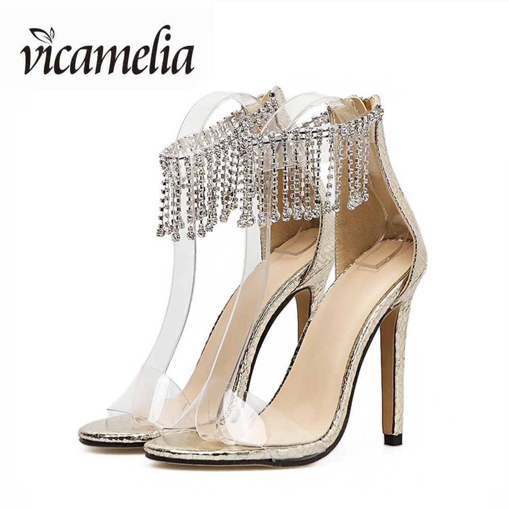 Catálogo de fabricantes de Zapatos De Tacón Alto Sandalias De Cristal de  alta calidad y Zapatos De Tacón Alto Sandalias De Cristal en Alibaba.com 2b135d6a38bb