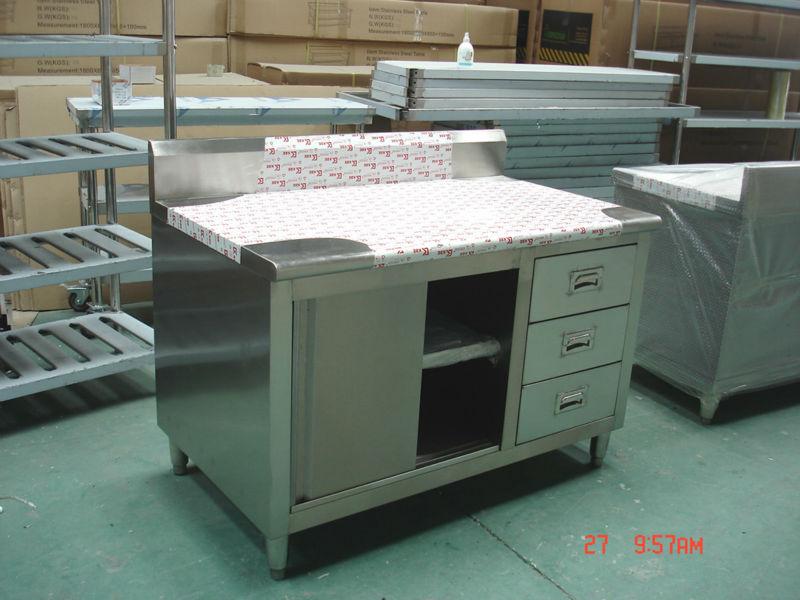 Cina Produksi Stainless Steel Peralatan Katering Murah Lemari Dapur Untuk Dijual Bn C07