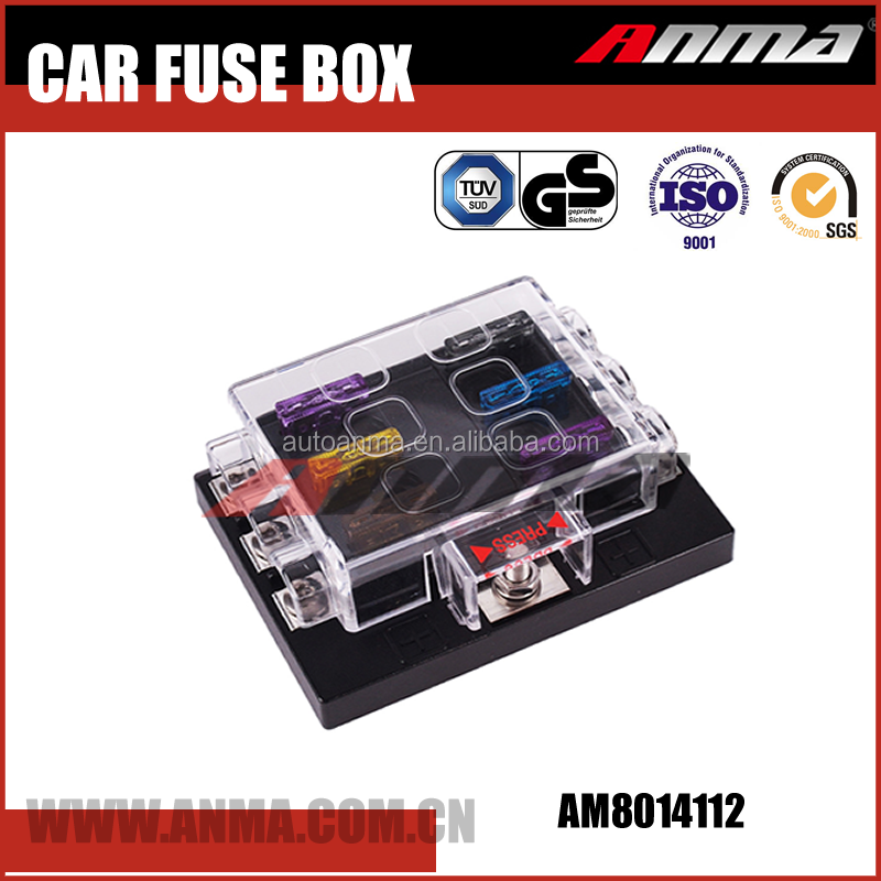 Universal Car Fuse Box 10 Way Circuit fuse box on car wiring diagram shrutiradio fuse box replacement parts at fashall.co