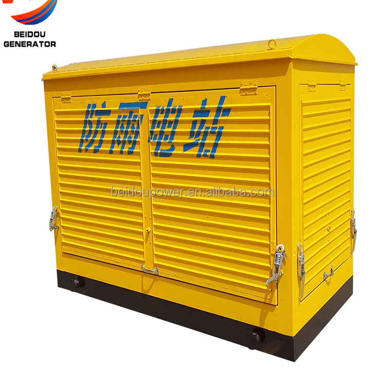 China manufacture 80KW 100KW 120KW home use super silent generator