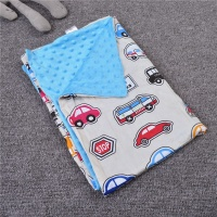 wholesale mink minky fleece baby swaddle blanket