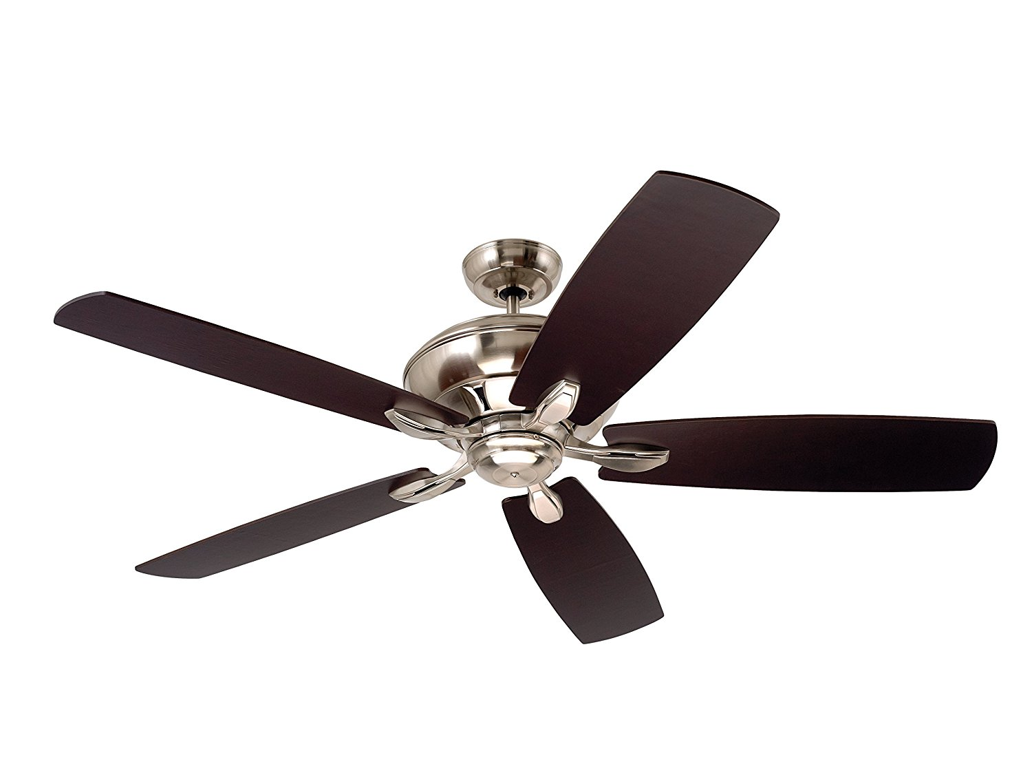 Emerson Ceiling Fans CF790BS Crofton Ceiling Fan with Wall Control and 58-inch Blades, Brushed Steel Finish
