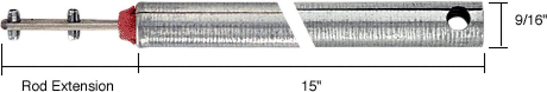 "C.R. LAURENCE FH1520 CRL 15"" Tubular Spiral Tilt Window Balance Red Bushing C.R. Laurence"