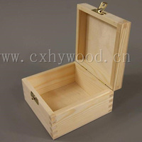custom made various types small wooden boxes wood gift box for sale