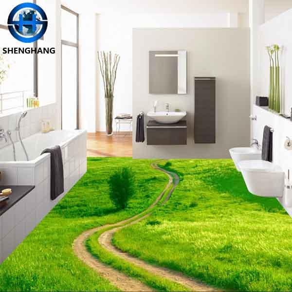 House Plan Ceramic Floor Tile