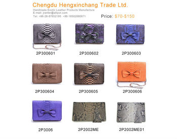 wholesale clutch bags china genuine leather female purse real snake python wallet