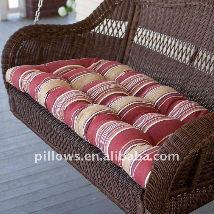 Coj n de la silla balanc n para graden de los muebles - Como hacer cojines para sillas ...