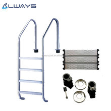 Economy Pool Ladder Stainless Steel 304 in Ground Swimming pool handrail