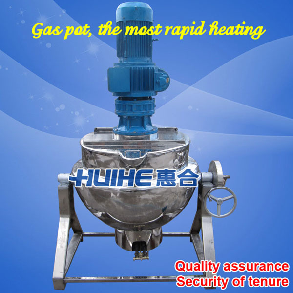Gas Cooking Kettle Mixer