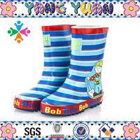100% rubber kids rain boots wholesaler