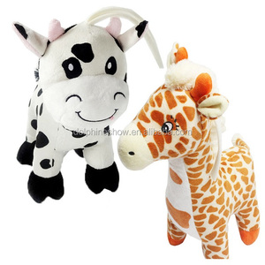 Plush Stuffed Animal Musical Pull String Baby Toys