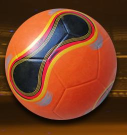โปรโมชั่น Pebble พื้นผิวฟุตบอล/ฟุตบอล