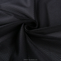 buy 100%polyester 68D 100g material textile black mini mesh fabric directly from China