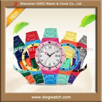 Colorful Plastic Champion Watch for 2012 Olympic Games