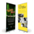 Factory Supply custom banner printing aluminium roll up banner 80x200cm 120x200cm