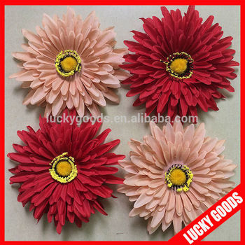 Decorative silk gerbera daisy flower heads wholesale buy silk decorative silk gerbera daisy flower heads wholesale mightylinksfo