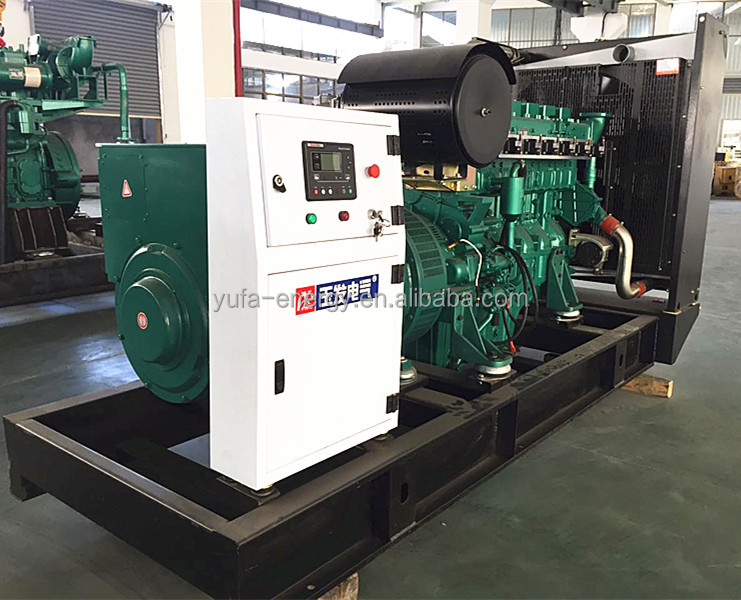 120KW silent gas generator 150KVA backup power supply methane generator set WEICHAI engine generators