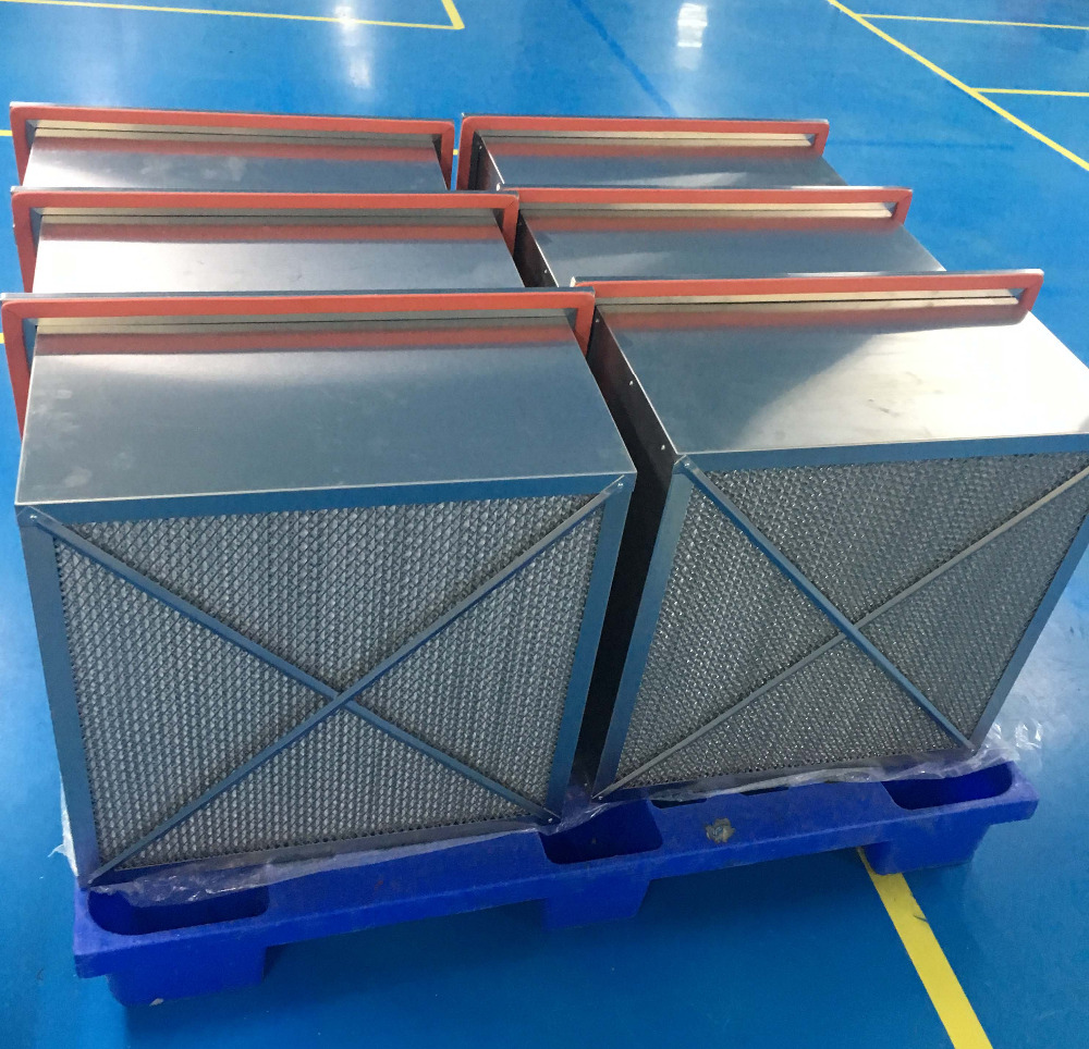 American HV media super high heat-resistance HEPA furnace filter H13 H14 with long working time/life-span