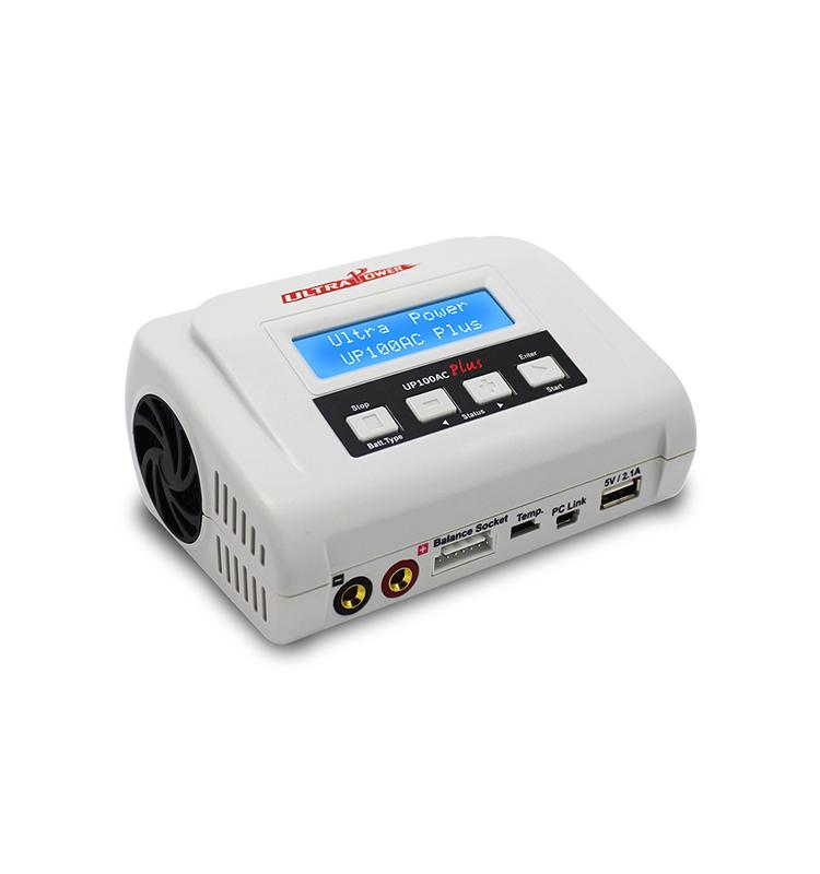NiMh 2x 10A LiPo UP200 DUO Ladegerät 2x 100Watt Pb PC-Link LiHv NiCd LiFe