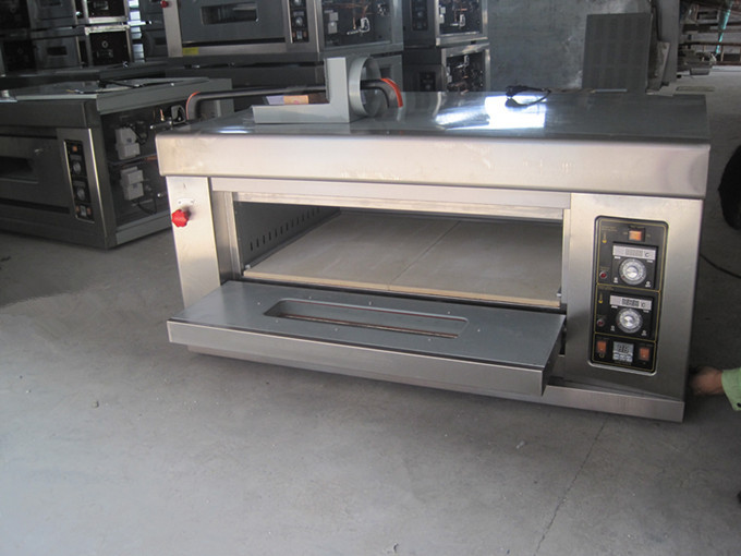 2 Deck 4 Trays Commercial Gas Oven With Stone For Pizza View Gas