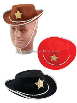 Childs Cowboy Budget Felt Hat Black Brown Red Cowboys   Western Fancy Dress  Nc2372 - Buy Cowboy Hat 0f71be9ae4d