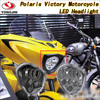high-intensity Cross Country LED Headlight fit for Polaris Victory Motorcycle