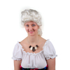professional old fashion colour party colonial wig