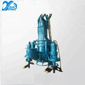 Resistant centrifugal river submersible sand suction dredge pump for sand pumping river dredging