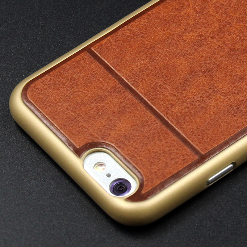 Popular slim thin case leather for iphone 6,for iphone 6 leather case custom