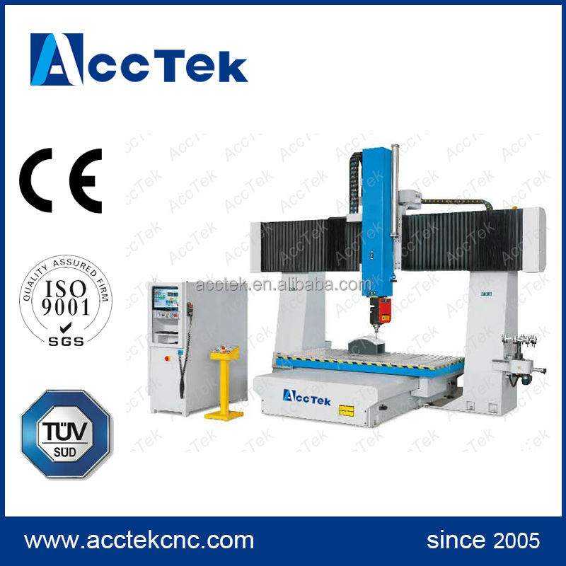 high quality ATC 5 axis cnc machine price