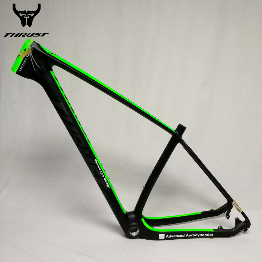 THRUST mtb Bicycle 29er China mtb Carbon Frame 29er Mountain Bike Frame Carbon Bicycle 27.5 15 17 19 Disc Brake BSA BB30