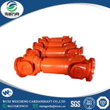 High strength cardan shaft custom drive for 850 four-roll cold mill