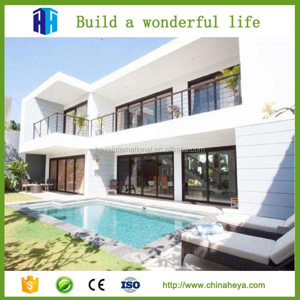 High end steel apartment building prefab and steel modular buildings