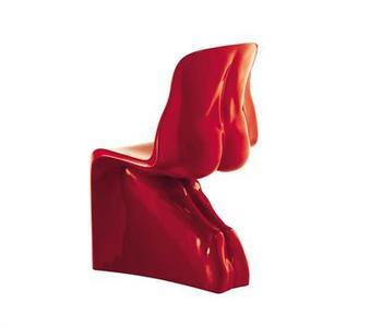 Modern Designer Fabio Novembre Fiberglass Him U0026 Her Bum Chairs
