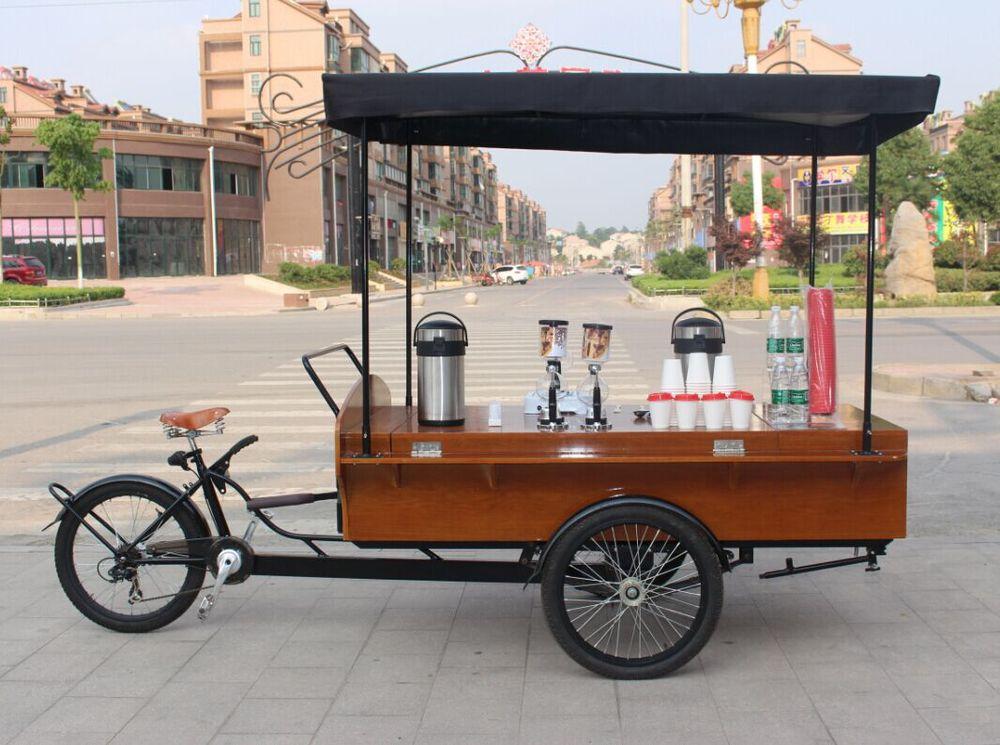 Mobile coffee cart