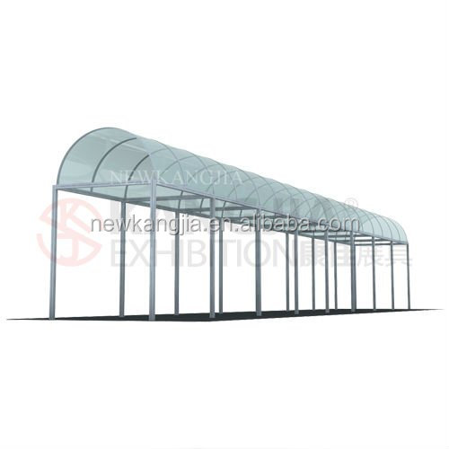 aluminum booth display system