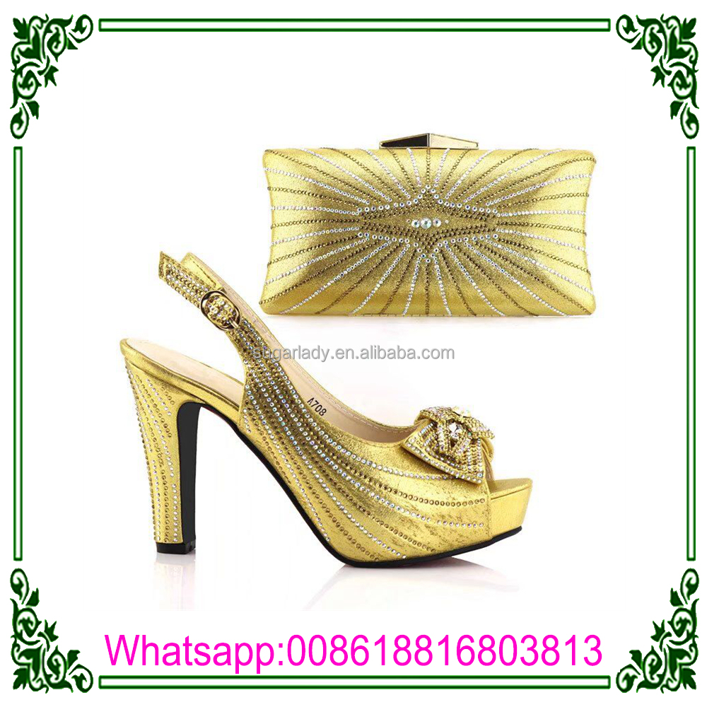 Design Shoes Safety Latest Matching BagsLadies Heel Shoes High With Italian qppxwCAd6