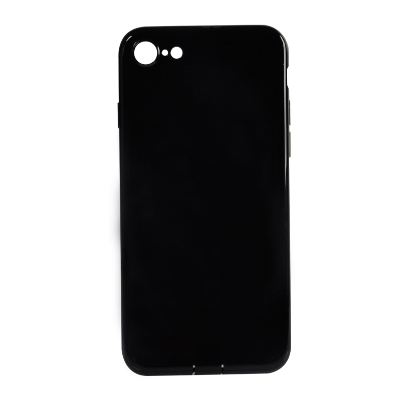 DFIFAN For Apple iphone 7 / 7plus tpu case, Black Back cover tpu cse,ultra slim Jet Black phone case for iphone 7 plus tpu