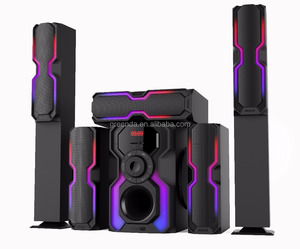 Multimedia active karaoke speaker 5.1 channel speaker home theatre system with remote