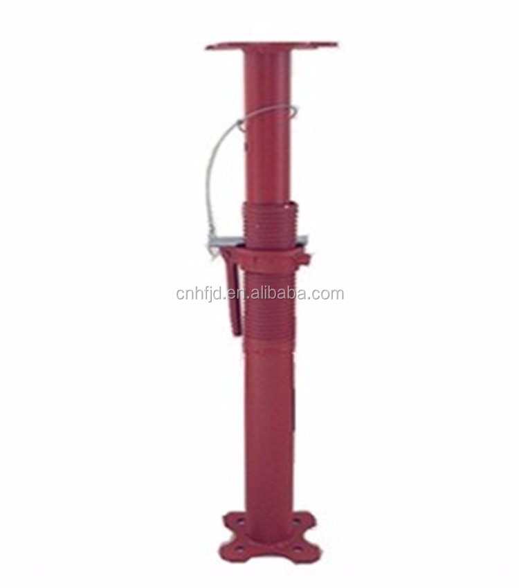 light duty adjustable steel props for construction supporting/formwork steel props