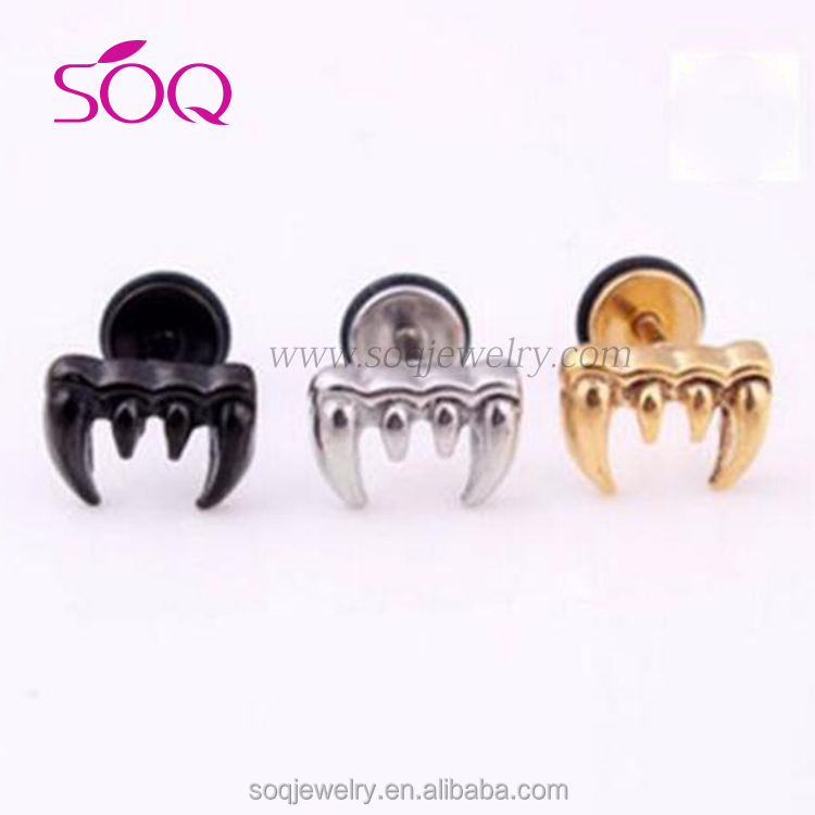 QE-0011 Cheap wholesale simple design express optional disposition material type fashion earring