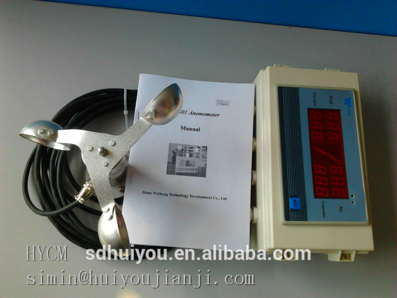 High quality Wind Anemometer for Tower Crane from shandong,wind speed sensor for tower crane