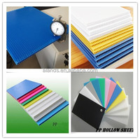 Correx/Corrugated/coroplast/pp hollow sheet for printing/packing/protection/decoration