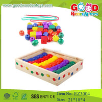 Small Educational Toys Colored Intelligent Bead Toy Diy Bead for Kids
