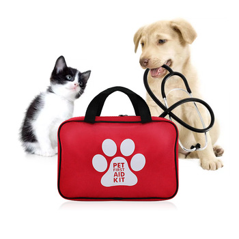 Factory Wholesale Custom Dog Pet First Aid Kit With Emergency Supplies